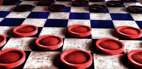 Photograph - Checker Board Art No.5 by Lesa Fine