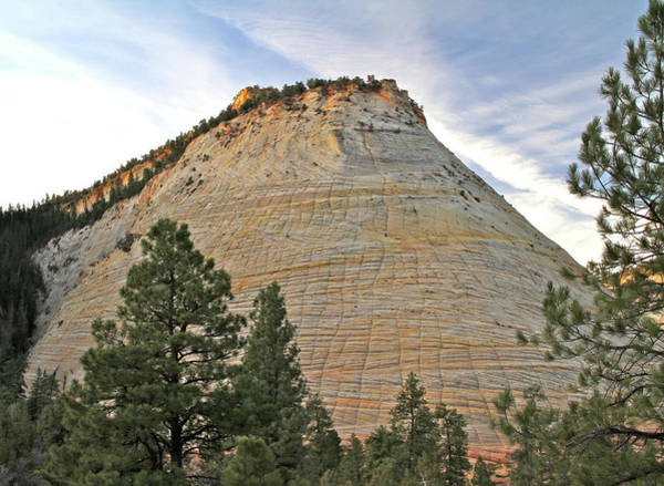 Photograph - Checkerboard Mesa Sunrise by Ed  Riche