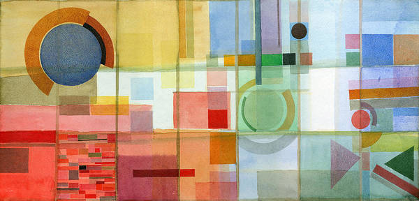 Wall Art - Painting - Checkered Structure N21. 2005 by Yuri Yudaev-Racei