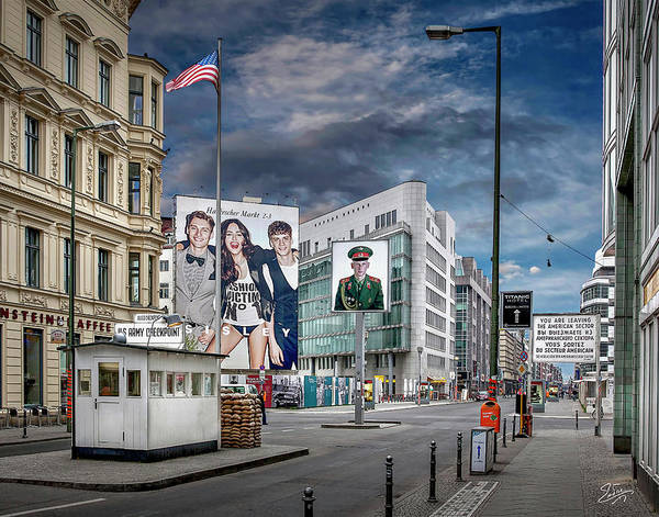 Photograph - Checkpoint Charlie In 2011 by Endre Balogh