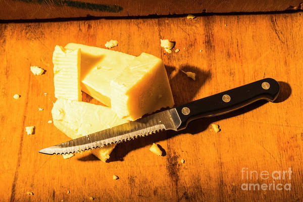 Dairy Photograph - Cheddaring Away The Day by Jorgo Photography - Wall Art Gallery