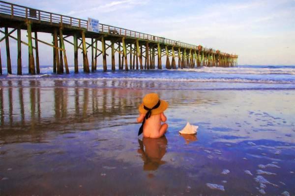 Photograph - Cheecks On The Beach by Alice Gipson