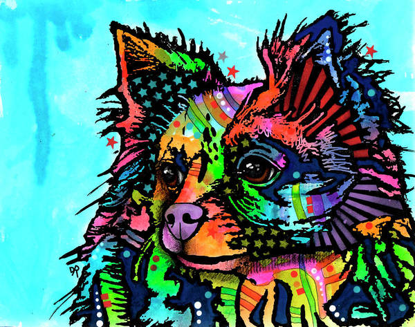 Painting - Cheeky Chi by Dean Russo Art