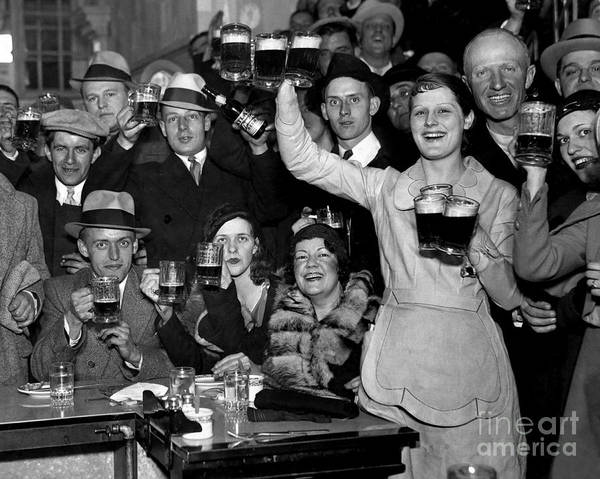 1920s Photograph - Cheers by Jon Neidert