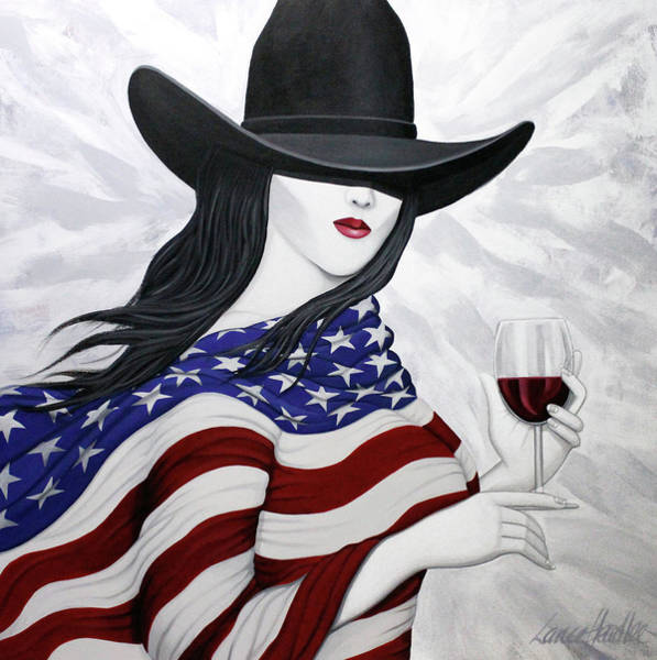 Painting - Cheers To America 1 by Lance Headlee