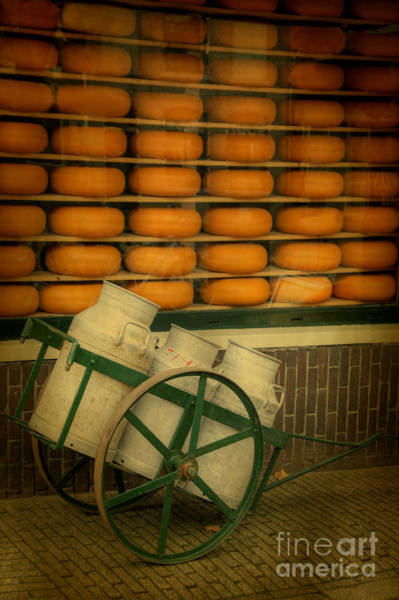 Photograph - Cheese And Churns by David Birchall