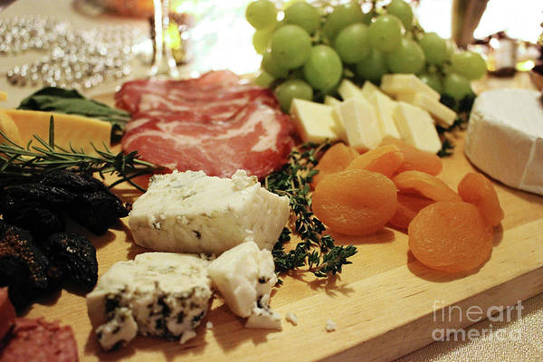 Photograph - Cheese And Meat by Laura Kinker