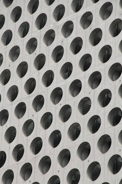 Photograph - Cheese Grater Builing by Nancy Ingersoll