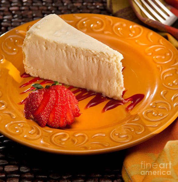 Cheese Cake Wall Art - Photograph - Cheesecake by Vance Fox