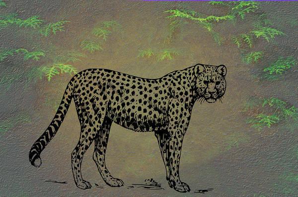 Mixed Media - Cheetah by Movie Poster Prints