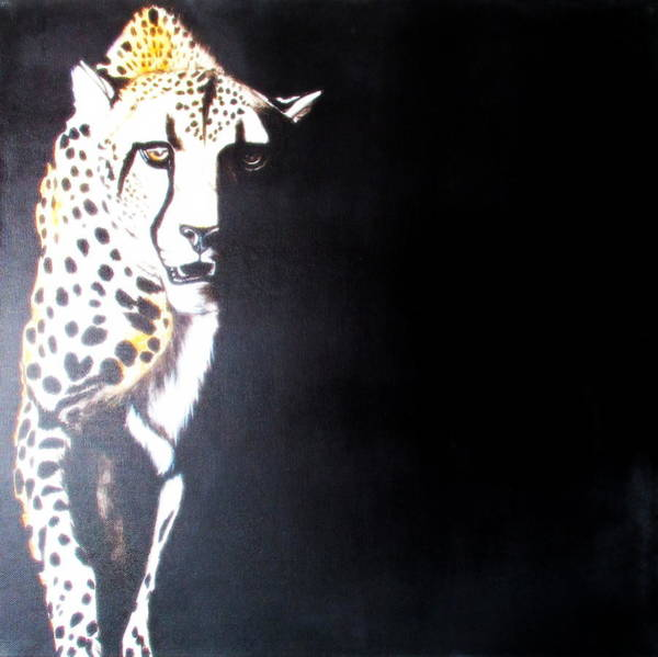 Painting - Cheetah by Tracey Armstrong