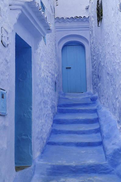 Wall Art - Photograph - Chefchaouen Morocco by Liz Pinchen