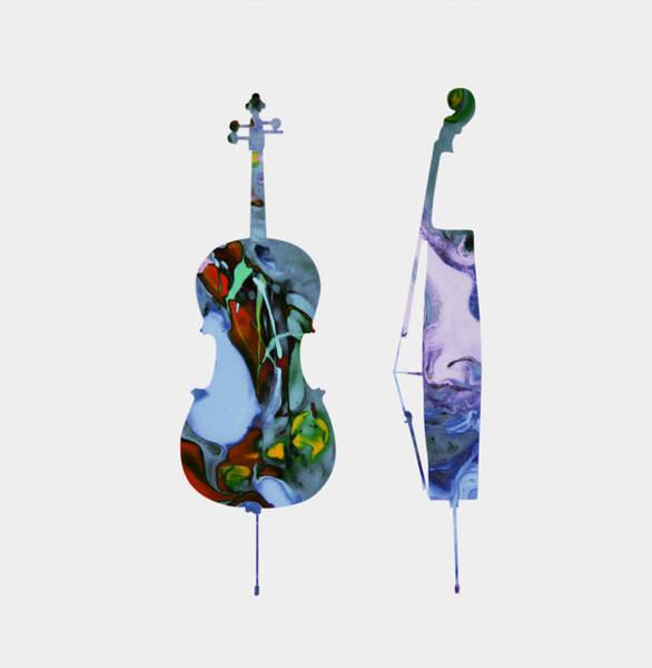 Harp Mixed Media - Chello  by Brian Reaves
