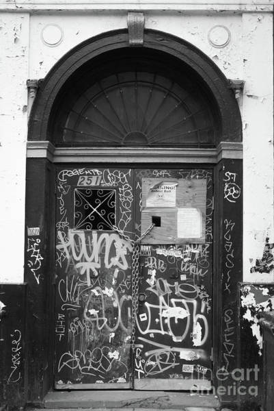 Photograph - Chelsea Doorway Nyc by Edward Fielding