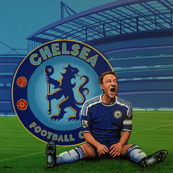 Stadium Painting - Chelsea London Painting by Paul Meijering