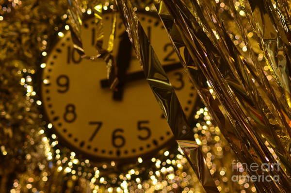 Visual Language Photograph - Chelsea Market Clock by Des Brownlie