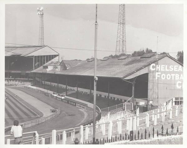 Stamford Bridge Wall Art - Photograph - Chelsea - Stamford Bridge - East Stand 2 - August 1969 by Legendary Football Grounds