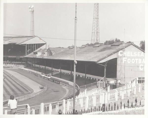 Stamford Bridge Wall Art - Photograph - Chelsea - Stamford Bridge - East Stand 3 - August 1969 by Legendary Football Grounds