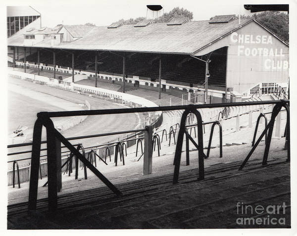 Stamford Photograph - Chelsea - Stamford Bridge - East Stand 4 - August 1969 by Legendary Football Grounds