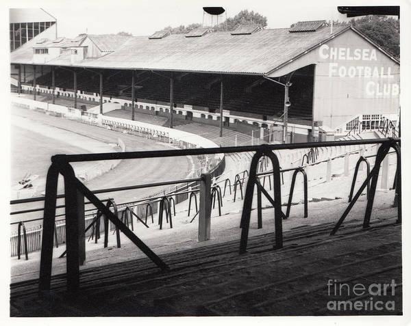 Stamford Bridge Wall Art - Photograph - Chelsea - Stamford Bridge - East Stand 4 - August 1969 by Legendary Football Grounds
