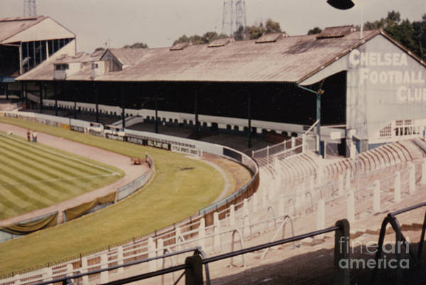 Wall Art - Photograph - Chelsea - Stamford Bridge - East Stand 5 - August 1969 by Legendary Football Grounds