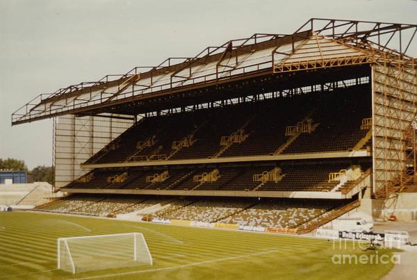 Stamford Bridge Wall Art - Photograph - Chelsea - Stamford Bridge - East Stand 7 - 1973 by Legendary Football Grounds