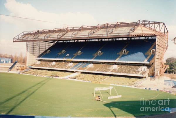 Stamford Bridge Wall Art - Photograph - Chelsea - Stamford Bridge - East Stand 8 - August 1990 by Legendary Football Grounds