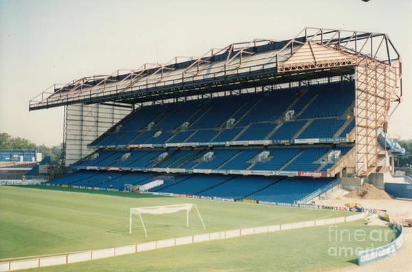 Stamford Bridge Wall Art - Photograph - Chelsea - Stamford Bridge - East Stand 9 - August 1991 by Legendary Football Grounds