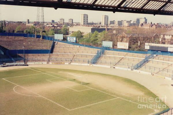 Stamford Bridge Wall Art - Photograph - Chelsea - Stamford Bridge - North Stand 1 - April 1986 by Legendary Football Grounds