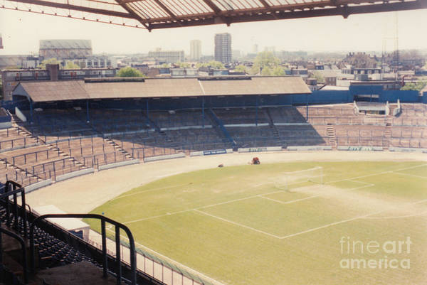 Wall Art - Photograph - Chelsea - Stamford Bridge - South Terrace - Shed End - April 1986 by Legendary Football Grounds