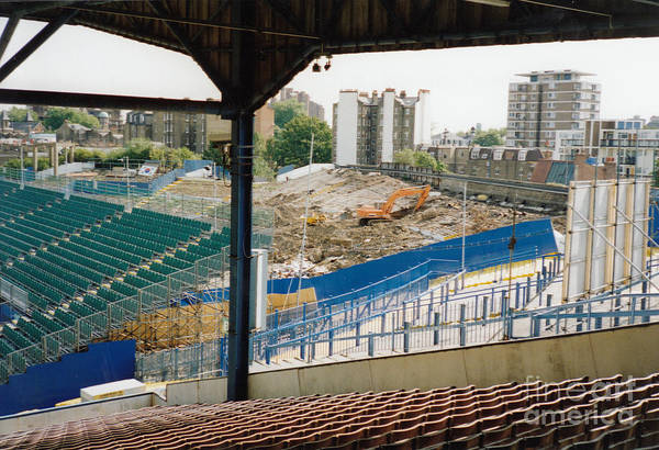 Stamford Bridge Wall Art - Photograph - Chelsea - Stamford Bridge - South Terrace - Shed End 3 - August 1994 by Legendary Football Grounds