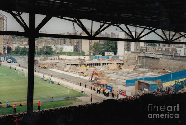 Stamford Bridge Wall Art - Photograph - Chelsea - Stamford Bridge - South Terrace - Shed End 4 - July 1995 by Legendary Football Grounds