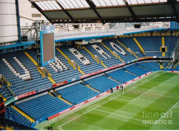 Stamford Bridge Wall Art - Photograph - Chelsea - Stamford Bridge - South Terrace - Shed End 5 - April 2005 by Legendary Football Grounds