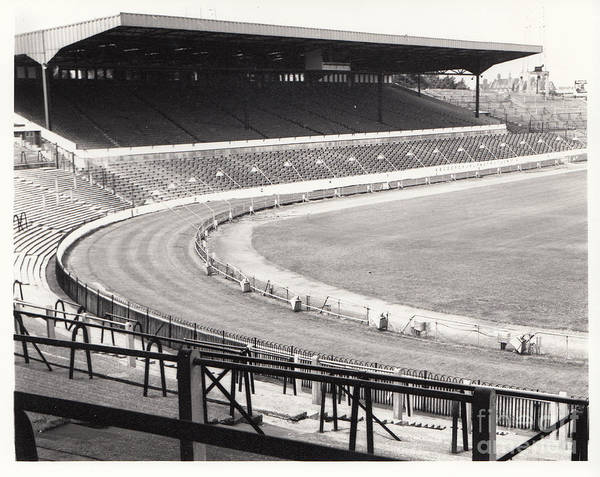 Stamford Bridge Wall Art - Photograph - Chelsea - Stamford Bridge - West Stand 2 - August 1969 by Legendary Football Grounds