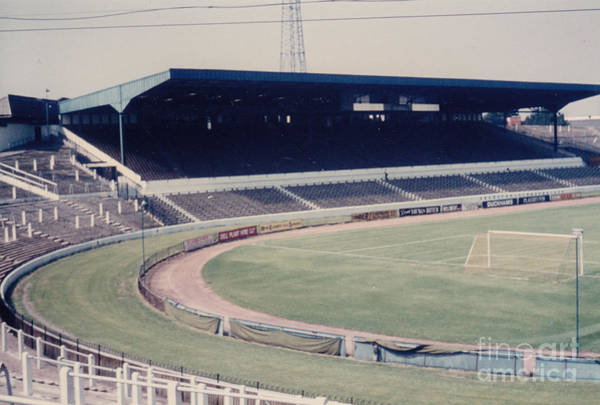 Stamford Bridge Wall Art - Photograph - Chelsea - Stamford Bridge - West Stand 3 - August 1969 by Legendary Football Grounds