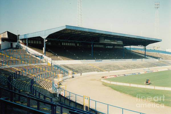 Stamford Bridge Wall Art - Photograph - Chelsea - Stamford Bridge - West Stand 4 - August 1991 by Legendary Football Grounds