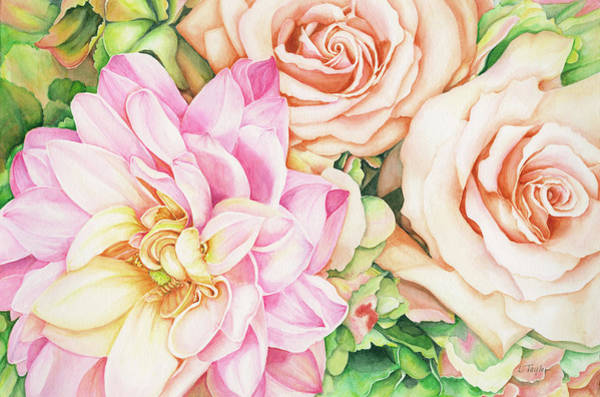 Painting - Chelsea's Bouquet by Lori Taylor