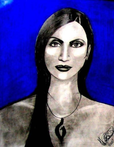 Drawing - Chelu by Michelle Dallocchio