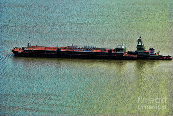 Aft Photograph - Chemical Tanker The Patriot by Paul Ward