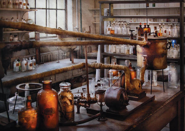 Photograph - Chemist - The Still by Mike Savad