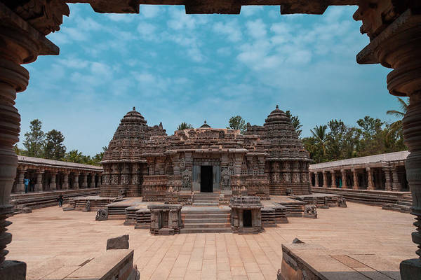Chennakesava Temple, Somnathpura Art Print