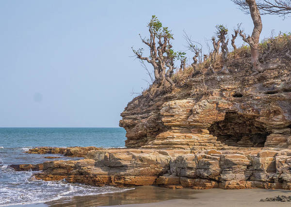 Photograph - Chepillo Island Rock Formation  27 by Herb Paynter