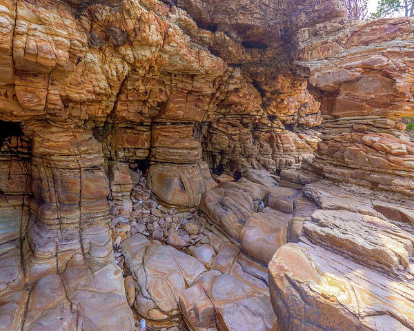 Photograph - Chepillo Island Rock Formation by Herb Paynter