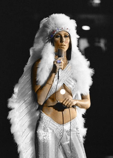 Digital Art - Cher #2 by Jim Mathis