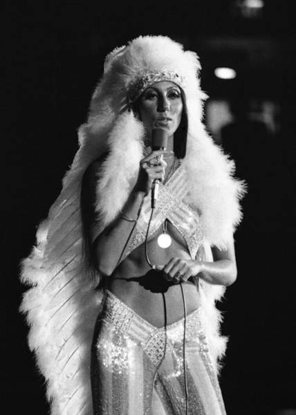 Photograph - Cher by Jim Mathis