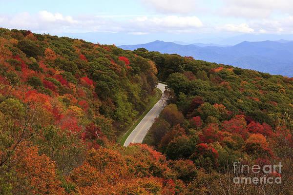 Photograph - Cherohala Skyway In The Fall by Jill Lang