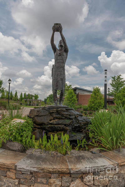 Photograph - Cherokee Indian Statue by Dale Powell