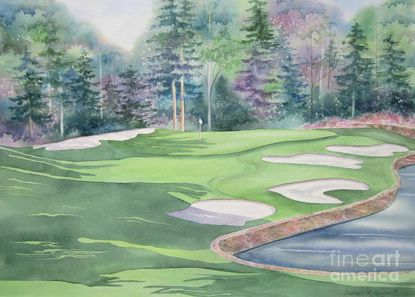 Country Club Painting - Cherokee Town And Country Club by Deborah Ronglien