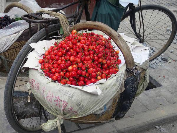 Photograph - Cherries And Berries by Rick Locke