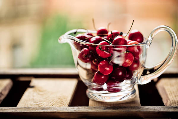 Cherry Photograph - Cherries by Nailia Schwarz